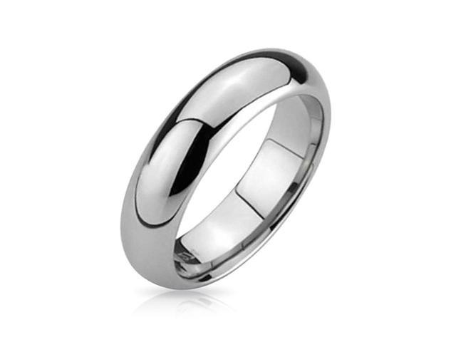 Christmas Gifts Comfort Fit Unisex Tungsten Wedding Band Ring 5mm