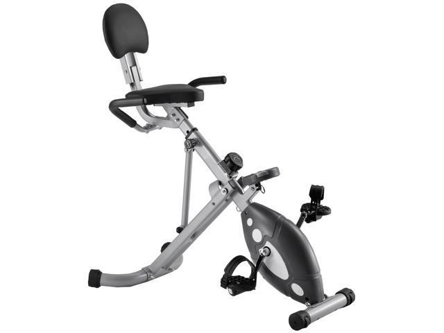 Sunny Health Fitness Folding Recumbent Bike
