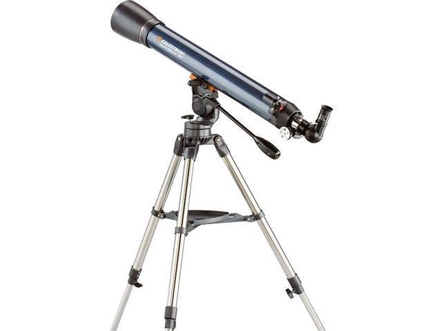 Celestron astromaster 90 eq equatorial refractor telescope for Astromaster powerseeker motor drive
