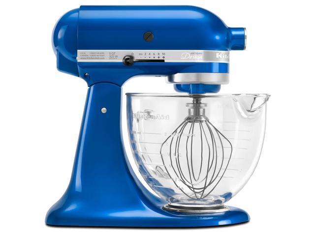 Kitchenaid Ksm155gbeb Electric Blue 5 Quart Artisan Designtilt Head Stand Mixer With Rebate