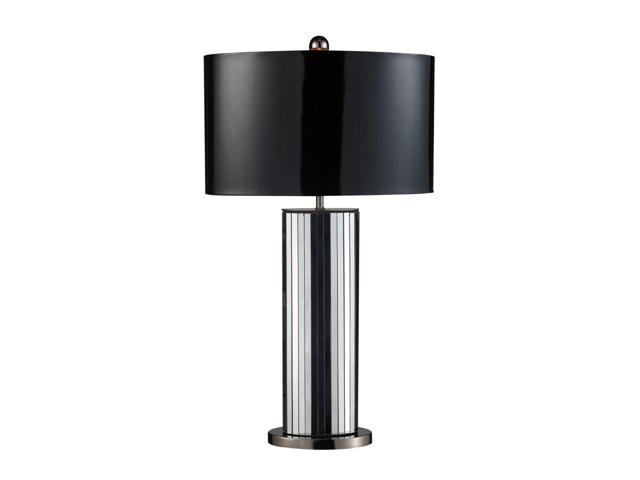 Dimond Lighting Shreve LED Table Lamp in Mirrored and Black Nickel - D1893-LED