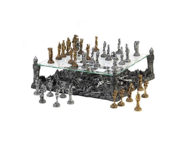 Medieval Warrior Chess Set