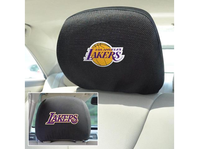 Fanmats NBA - Los Angeles Lakers Head Rest Cover 10
