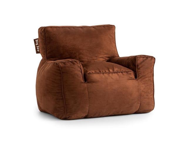 BeanSack Big Joe Suite Microsuede Bean Bag Arm Chair