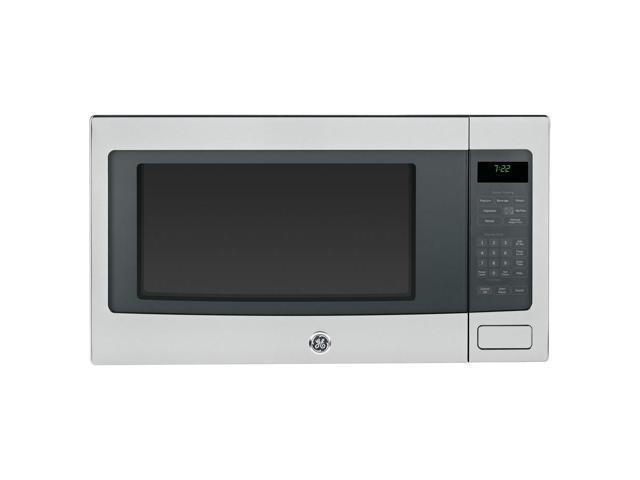 Ge Countertop Microwave Stainless Steel : GE Profile PEB7226SFSS Stainless Steel Countertop Microwave Oven ...