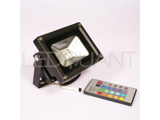 10 Watt RGB Color Changing LED Flood Light, Wall Washer Light