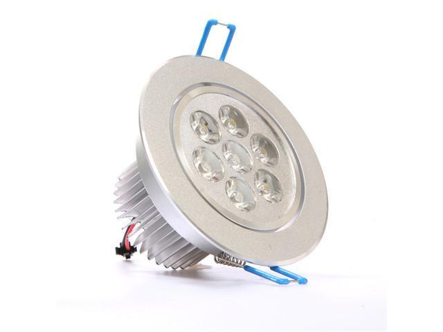 7W Dimmable CREE Recessed LED Lighting Fixture, Recessed Downlight, Warm White