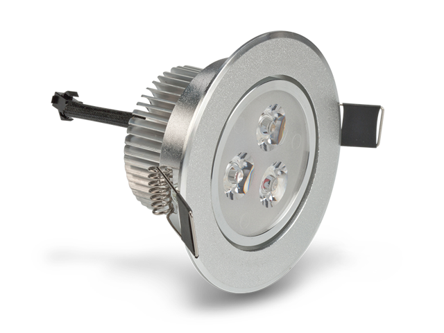 Ledquant 3 watt dimmable recessed led lighting fixture with driver ledquant 3 watt dimmable recessed led lighting fixture with driver recessed downlight warm white aloadofball Image collections