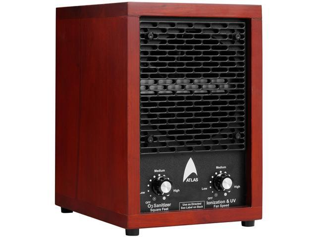 Atlas ATL303 Powerful Ionizer with 3-Plate Ozone System, UV Prefilter and HEPA Technology