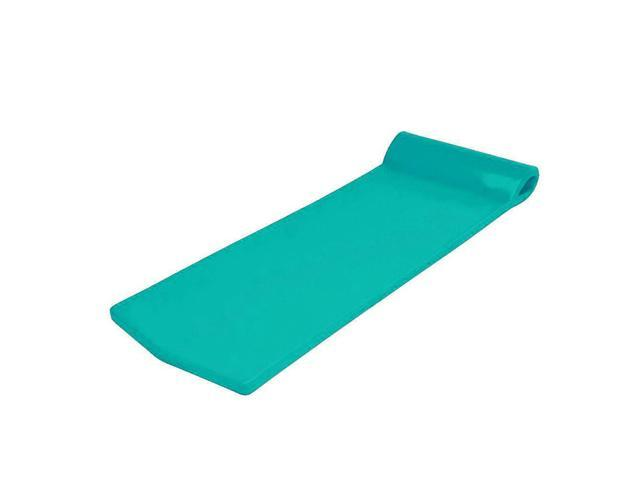 Oversized Unsinkable Foam Cushion Pool Float (Aquamarine)