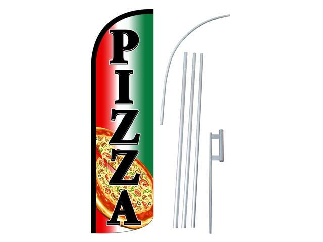 Pizza Swooper Windless Feather Flag Kit