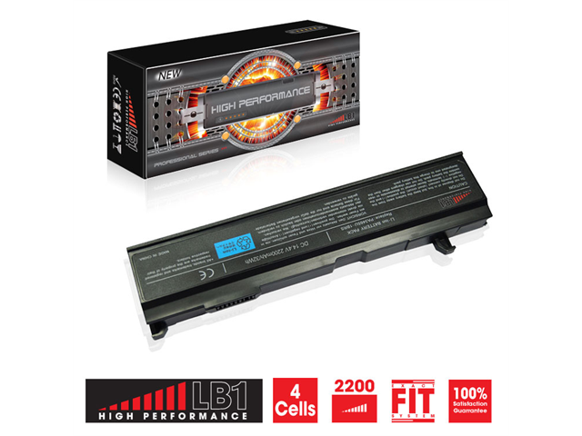 LB1 High Performance© Toshiba Satellite A85-S107 Laptop Battery 14.4V