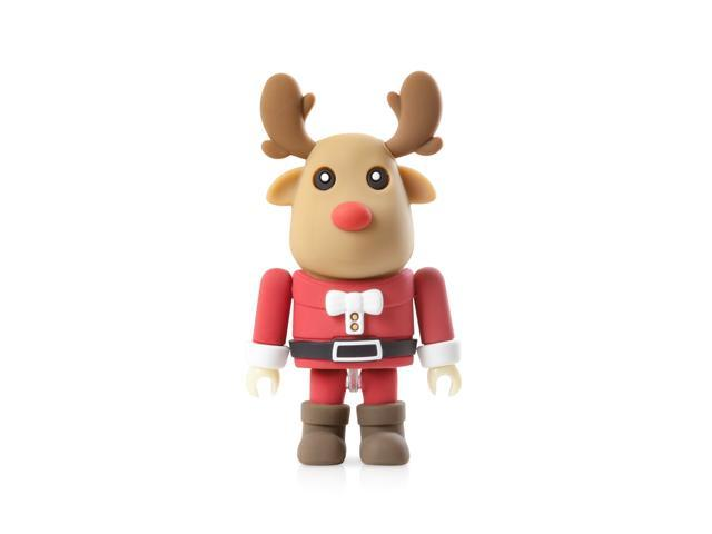 Bone Collection Mr. Deer Driver- USB 2.0 Flash Drive/ 8GB/ DIY Style, Assembling Fun! /Gift box Packaging/ X'mas blessing gift.