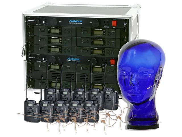 Audio-Technica 3110 Wireless Ten Pack System w/HS-06