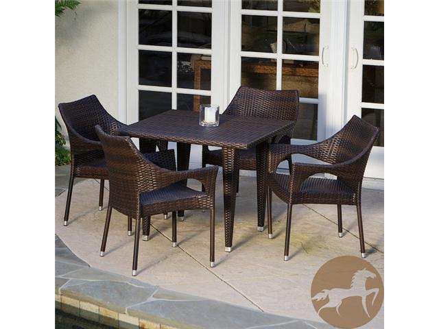 Christopher Knight Home Cliff 5-piece Outdoor Dining Set