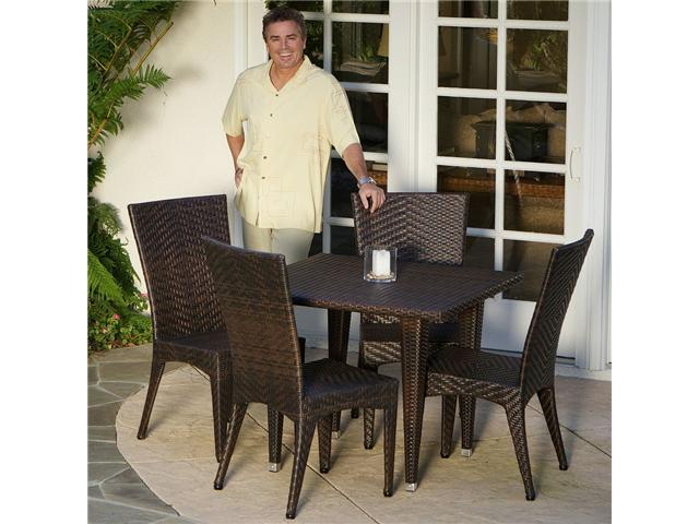Christopher Knight Home Brooke 5pc Outdoor Dining Set