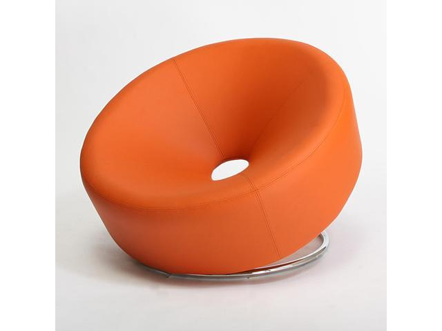 Christopher Knight Home 258635 Modern Round Accent Chair - Orange