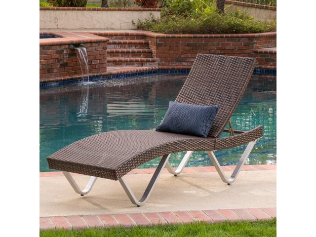 Christopher knight home san marco chaise lounge kd for Ashley san marco chaise