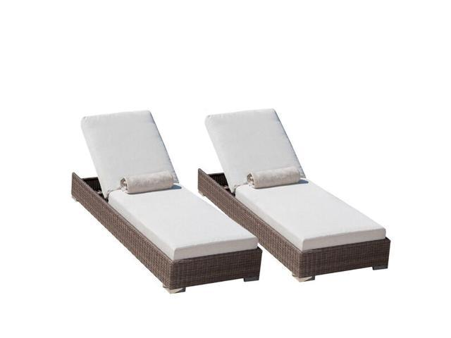 Christopher Knight Home Barcelona Chaise Lounge Set
