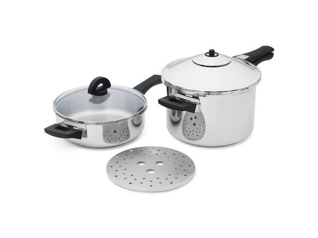 Kuhn Rkon DUO 6-Piece Duromatic Pressure Cooker Set