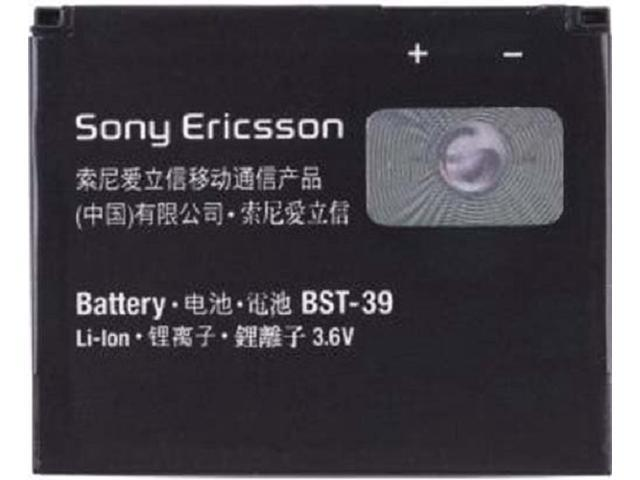 NEW OEM SONY ERICSSON BST-39 18287-2000 BATTERY FOR TM717 EQUINOX, W380, W380a, W380c, W380i, W518, W518a, W908c, W910, W910i, Z555, Z555i, ZYLO W20i, T707