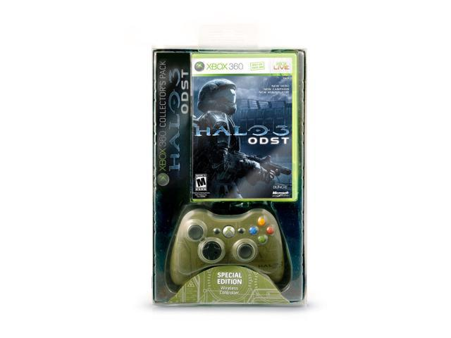 XBOX 360 HALO 3 ODST with Special Edition Wireless Controller Collector's Pack