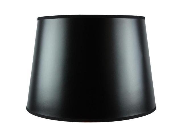 black gold lined floor parchment empire lamp shade 13x16x11. Black Bedroom Furniture Sets. Home Design Ideas
