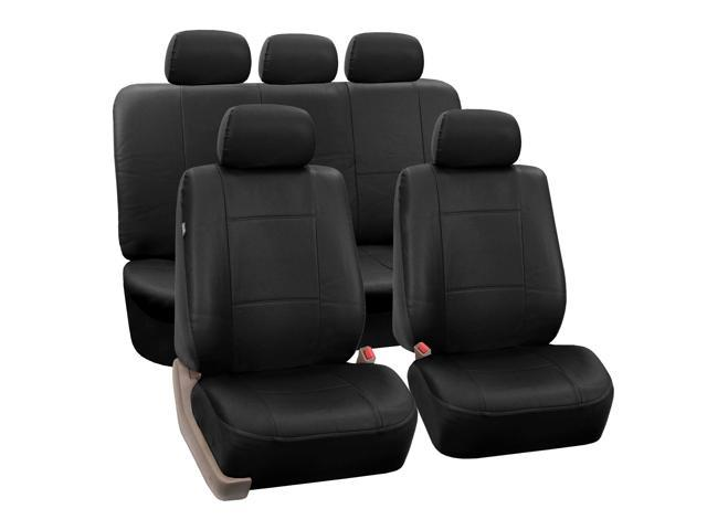 CYBER MONDAY SALE :PU Leather Car Seat Covers Airbag / Split Ready ...