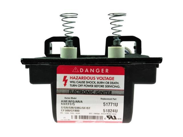 Beckett 51836u Electronic Oil Igniter Transformer For
