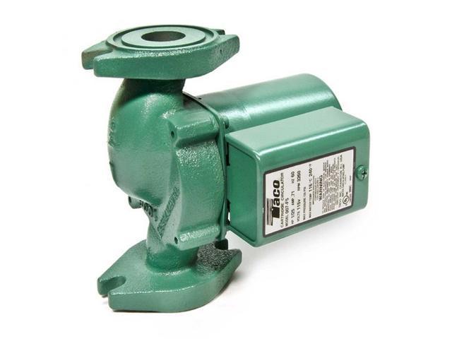 Taco Model 007 (007-F5) Cast Iron Cartridge Circulator Pump (1/25 HP, 125 PSI)