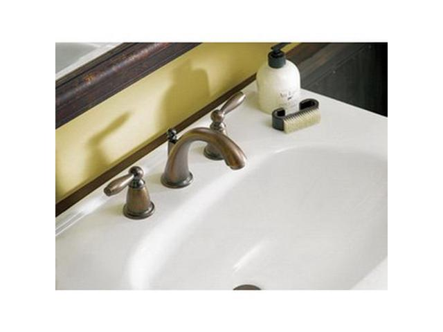 Moen T6620 Brantford Metal 2-Lever High Arc Bathroom Faucet, Oil-Rubbed Bronze