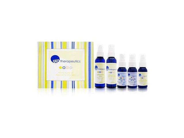 glotherapeutics Home Care Kit for Normal to Oily Skin 5 Piece Set