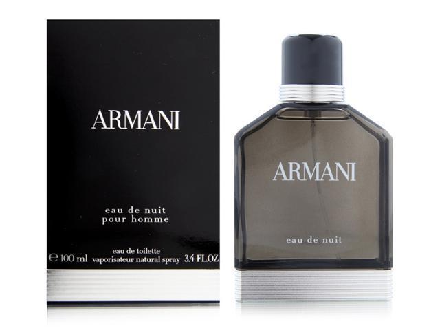 Armani Eau de Nuit Pour Homme 3.4 oz EDT Spray