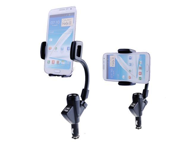 Dual USB Port Car Charger Mount Lighter Socket Dock Holder for iPhone 5S 5G 5C 5 4S 4G 4th 4 3GS 3G Samsung Galaxy S1 S2 ...