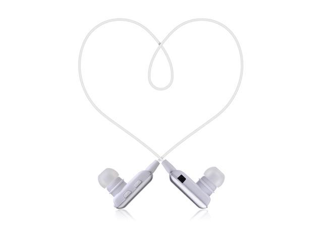 Mini Silver ROMAN Wireless A2DP Stereo Bluetooth Earphone Earpiece Earbud Hands-Free In-ear Headset Headphone with Microphone ...