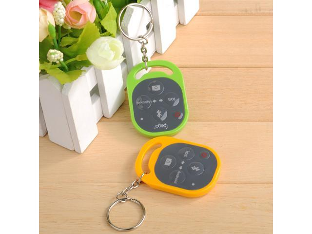 Bluetooth Remote Camera Control Self-timer Release Shutter for Apple iPhone 5S 5C 5 4S 4 Samsung Galaxy S4 S3 Note 3 2 Smartphones and Tablet PC - Yellow