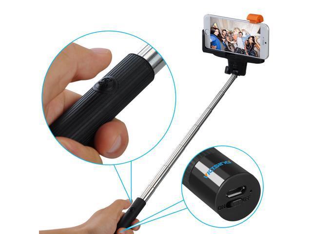 victsing selfie stick 3 in 1 self portrait monopod extendable wireless bluetooth selfie stick. Black Bedroom Furniture Sets. Home Design Ideas