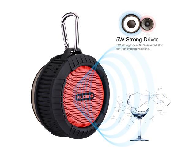 waterproof speaker victsing phoenix wireless bluetooth 40 portable speaker w