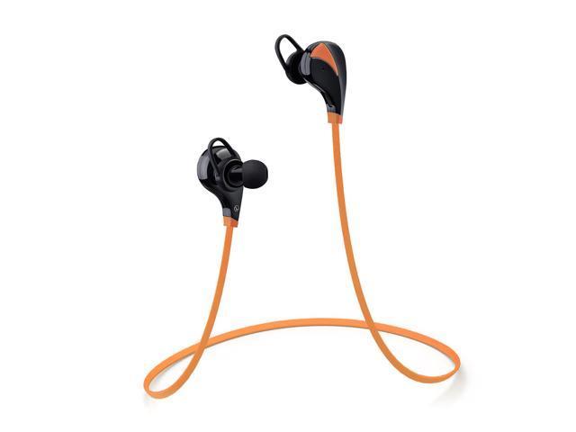 bluetooth headphones noise isolating wireless headset. Black Bedroom Furniture Sets. Home Design Ideas