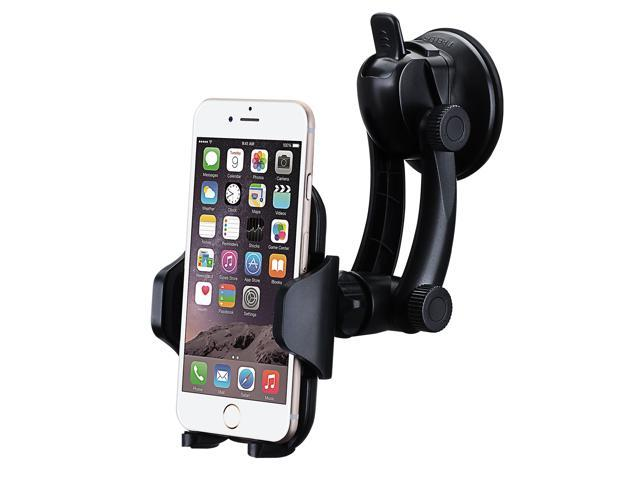 Universal Car Mount Holder,  Car Windshield / Dashboard Phone Mount Holder Cradle for iPhone 6s/6 plus 5s, Samsung Galaxy S7/S6 edge S5 and Note 5/4/3