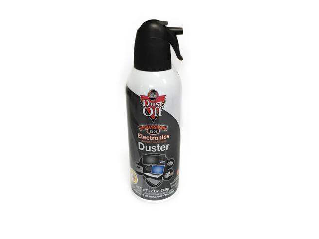 dust off air computer tv disposable compressed gas duster 12 oz xl can dpsxl12. Black Bedroom Furniture Sets. Home Design Ideas