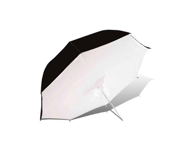 LoadStone Studio White/Black Umbrella Brolly Box - Black, White