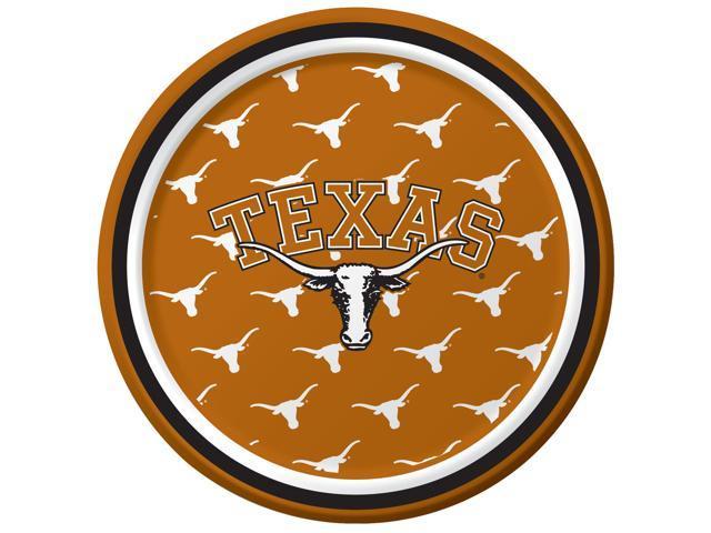 Texas Longhorns - Dessert Plates - paper