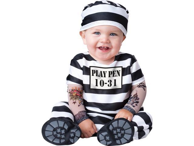 Infant Time Out Prision Costume Incharacter Costumes LLC 16015