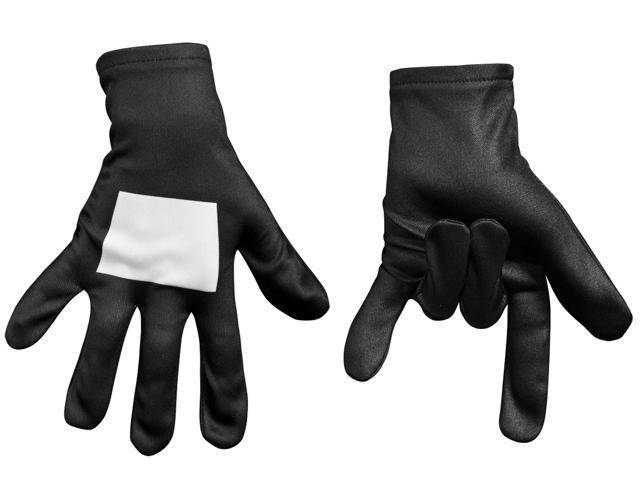 Ultimate Black Spider-man Kids Gloves - One-size
