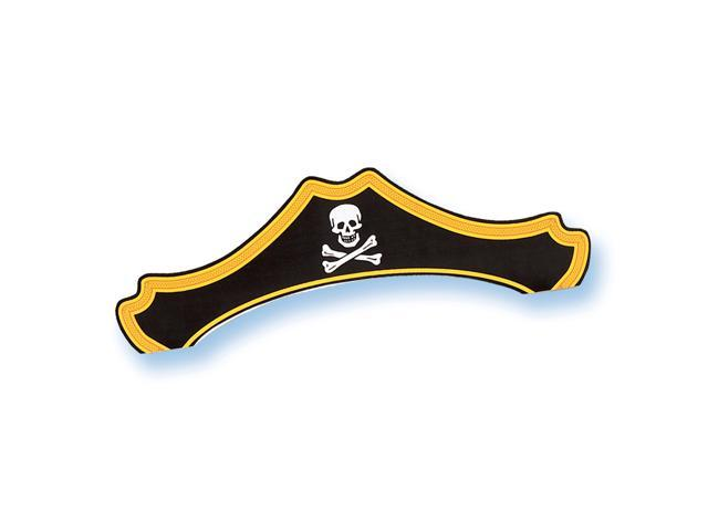 Paper Pirate Hats (8 count) - paper