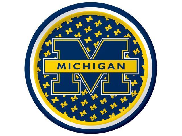 Michigan Wolverines - Dessert Plates - paper
