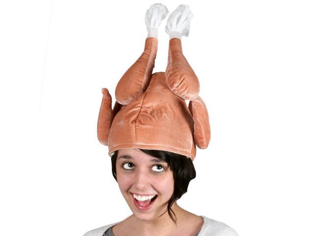 Deluxe Turkey Hat - 75% Polyester, 25% Cotton