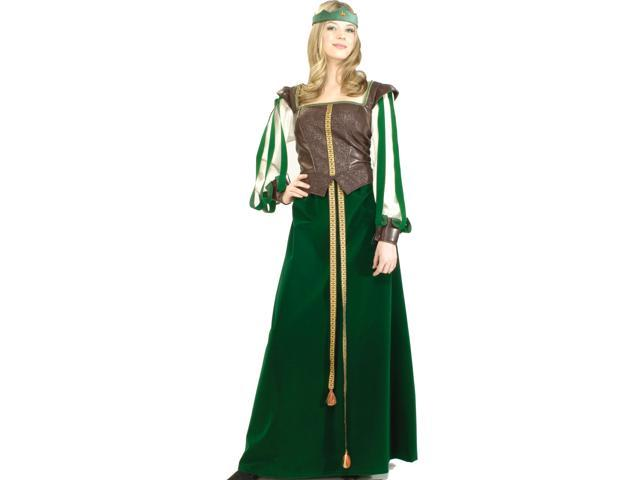 Maid Marion Designer Collection Adult Costume - 100% Polyester exclusive of trim - Large (14-16)