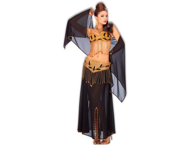 Deluxe Harem Dancer Adult - All Polyester Fabrics Exclusive Of Trim - Standard One Size